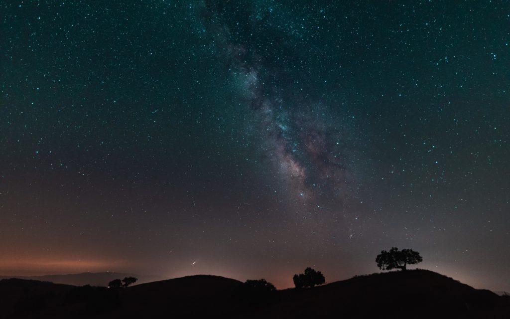 USCB(カリフォルニア大学サンタバーバラ校)夜空、星
