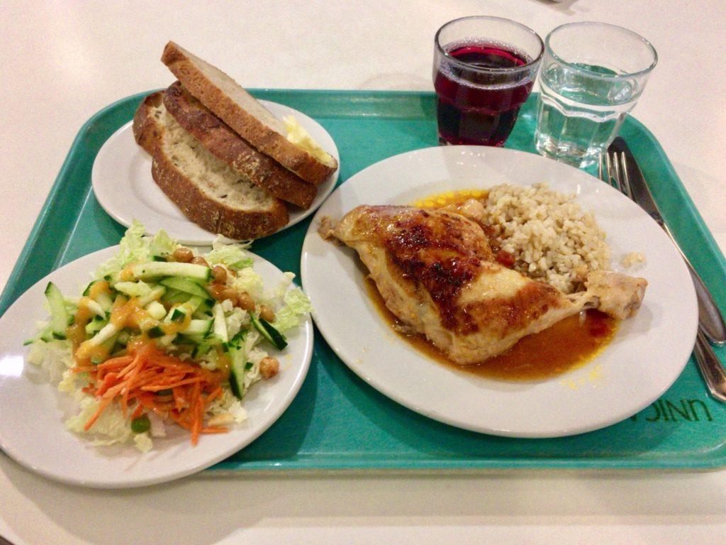 フィンランド、Unicafeでの朝ご飯